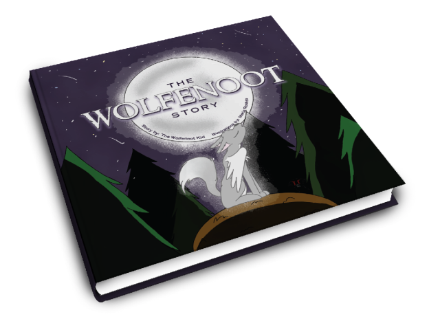 Wolfenoot cover mockup